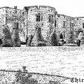 Chirk Castle Drawing